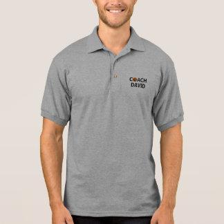 Personalized Basketball Coach Polo Shirt