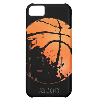 Personalized Basketball Distressed iPhone5 Case iPhone 5C Cover