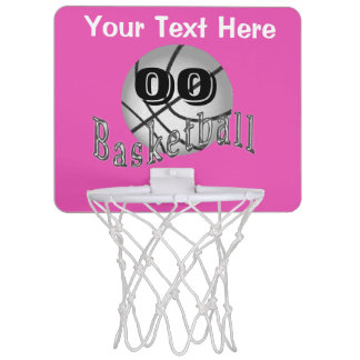 Personalized Basketball Gifts for Girls Mini HOOP Mini Basketball Hoops