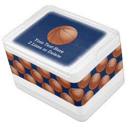 Personalized Basketball Igloo Cooler
