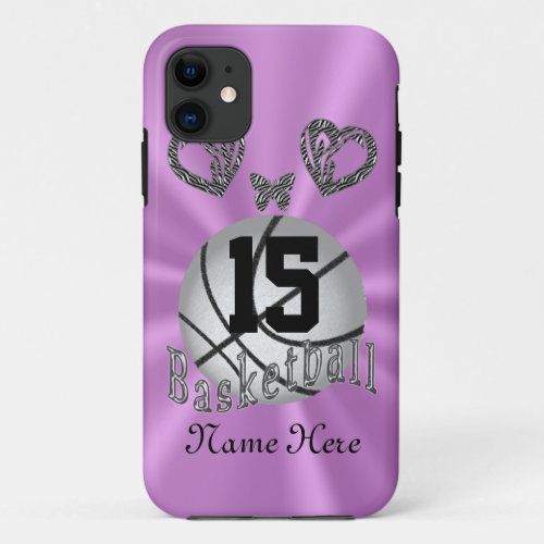 Personalized Basketball iPhone 5S Case for Her Phone Case