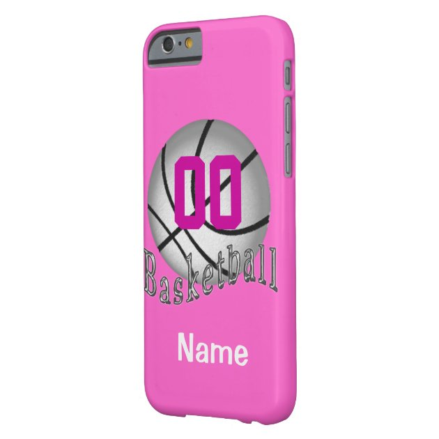 PERSONALIZED Basketball iPhone 6 Cases for Girls | Zazzle