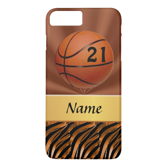 Personalized Basketball iPhone 6 PLUS Cases