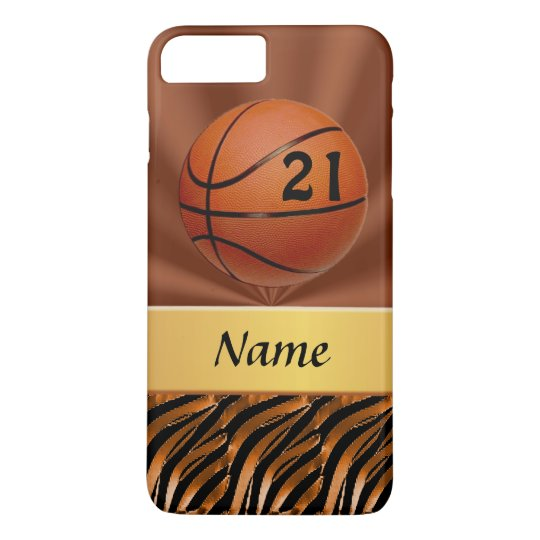 premium selection 52e15 50d6c Personalized Basketball iPhone 7 PLUS Cases