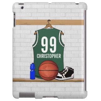 Personalized Basketball Jersey (green)