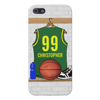 Personalized Basketball Jersey (GY) Case For iPhone SE/5/5s