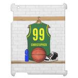 Personalized Basketball Jersey (GY) iPad Case