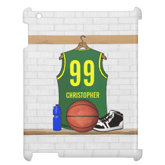 Personalized Basketball Jersey (GY) iPad Cover
