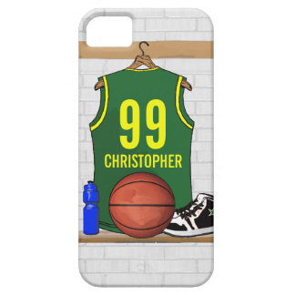 Personalized Basketball Jersey (GY) iPhone SE/5/5s Case
