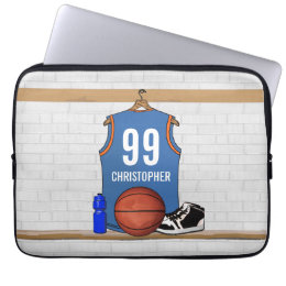 Personalized Basketball Jersey (LB) Computer Sleeve