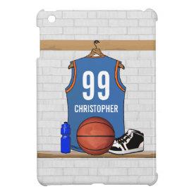 Personalized Basketball Jersey (LB) iPad Mini Covers