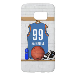 Personalized Basketball Jersey (LB) Samsung Galaxy S7 Case