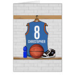 Personalized Basketball Jersey (LBO) Card