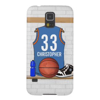 Personalized Basketball Jersey (LBO) Galaxy S5 Cover