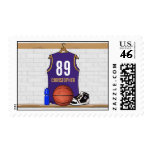 Personalized  Basketball Jersey (PG) Postage
