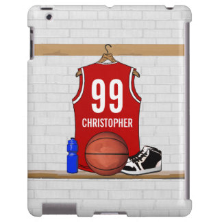 Personalized Basketball Jersey (red)