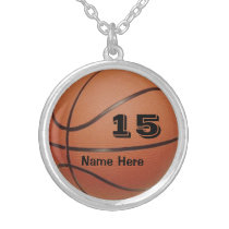 Personalized Basketball Jewelry NAME and NUMBER