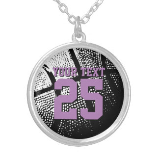 Personalized basketball jewelry with jersey number