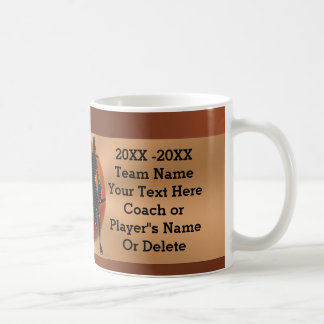 PERSONALIZED Basketball Mugs for Players, Coaches