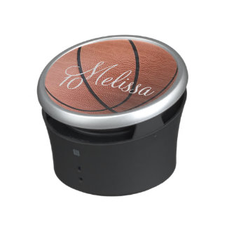 Personalized Basketball Name and Number Bluetooth Speaker