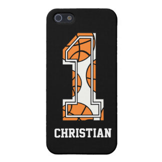Personalized Basketball Number 1 Cases For iPhone 5