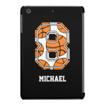Personalized Basketball Number 8 iPad Mini Cover