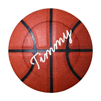Personalized Basketball Photo Design Button Covers