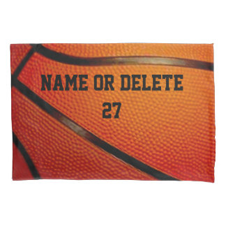 Personalized Basketball Pillow Case with Your Text