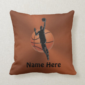 Personalized Basketball Pillow NAME and NUMBER