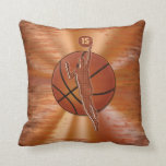 Personalized Basketball Pillows NAME and NUMBER