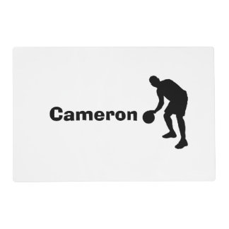 Personalized Basketball Placemat