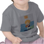 Personalized basketball player cartoon Toddler T-shirts