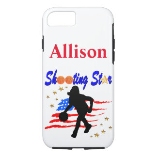 PERSONALIZED BASKETBALL PLAYER IPHONE CASE