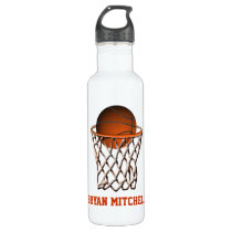 Personalized Basketball Player Name Liberty Bottle