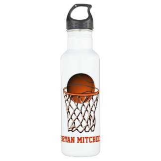 Personalized Basketball Player Name Liberty Bottle 24oz Water Bottle