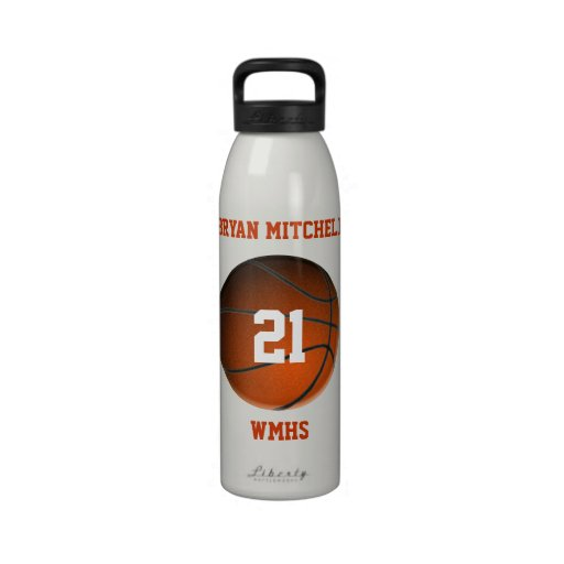 Personalized Basketball Player Name Liberty Bottle Drinking Bottles