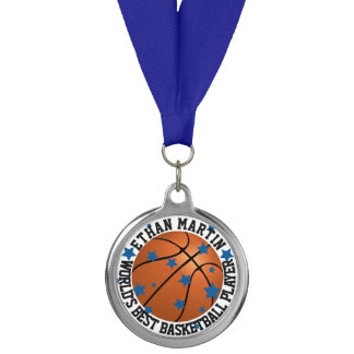 Personalized Basketball Player or Coach Medal