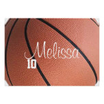 Personalized Basketball Poster