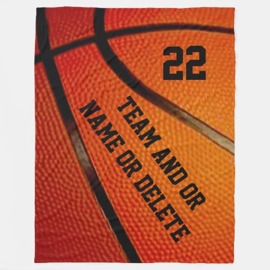 Personalized Basketball Senior Gift Ideas Blanket Zazzle Com
