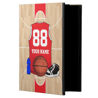Personalized Basketball shirt on court Powis iPad Air 2 Case