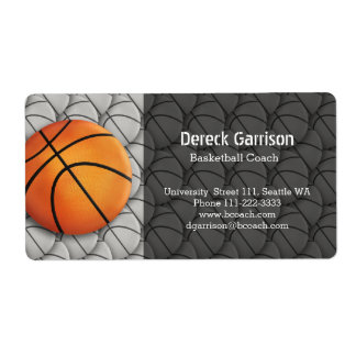 Personalized Basketball | Sport Label