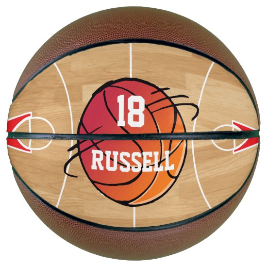 Personalized basketball sports design