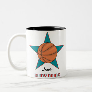 Personalized Basketball Star Mug
