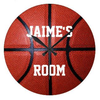 Personalized Basketball Wall Clock
