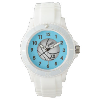 Personalized Basketball Watches, Coach, Players Wrist Watch