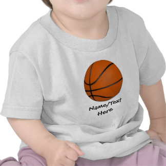 Personalized Basketball Wood Floor T-shirts