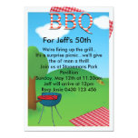 Personalized BBQ Custom Personalized Invites