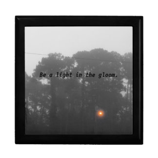 "Personalized ""Be a light in the gloom"" Gift Box"
