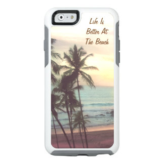 Personalized beach OtterBox iPhone 6/6s case