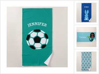 Personalized Beach Towels